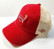 2018 MASTERS Golf 1934 Red & Off White Trucker Style Hat AUGUSTA NATIONAL
