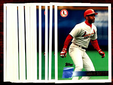 1996 Topps OZZIE SMITH ~ 20 CARDS LOT #301 ~ HALL OF FAME INDUCTEE CARDINALS SS