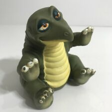 Vintage LAND BEFORE TIME Spike Rubber Hand Puppet Dinosaur Pizza Hut 1988