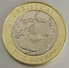 Nueva!! Exclusiva Monedas £2 Gibraltar christmas año 2020