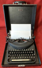 Remington noiseless typewriter model 7 H177262 with case, Great condition