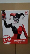 *HARLEY QUINN RED WHITE & BLACK STATUE JIM LEE DC BATMAN JOKER SUPERMAN