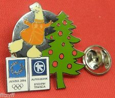 ATENE 2004 olympic Bavero Cappello Cravatta PAC METALLO PIN BADGE SPILLA DI NATALE