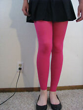Pink music legs footless tights                             #101