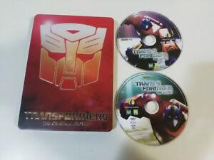 TRANSFORMERS THE ORIGINAL MOVIE ANIMACION - 2 X DVD STEELBOOK CASTELLANO ENGLISH