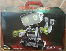 Meccano MAX Advanced Xfactor Interactive Smartbot Robot ~ NEW