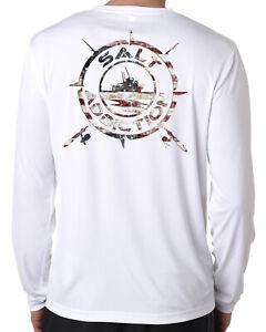 Salt Addiction microfiber fishing long sleeve life trolling t shirt 50+ uv