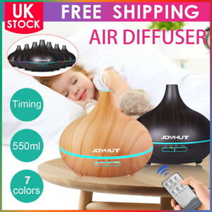 NEW 7 LED Essential Oil Aroma Diffuser Ultrasonic Air Mist Humidifier Purifier