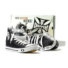 Chaussures montantes en toile Noir & Blanche West Coast CHOPPERS - MIXTE