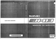 Manual de Servicio Suzuki Jimny SN413 En CD Workshop Reparation.