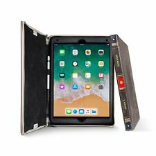 Apple iPad Pro 12.9 2017 Case Genuine Leather Executive Portfolio Pencil Slot