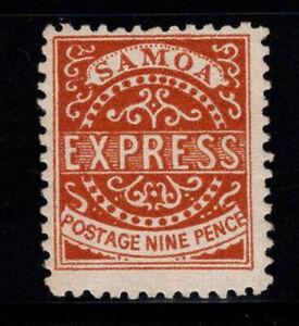 Samoa 1877 Mi. 4 III MNH 100% 9 P, express