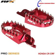 RFX PRO SERIES FOOTRESTS FOOT PEGS RED FOR HONDA CRF250L   2013 - 2017