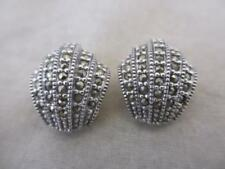 Marcasite Earrings Vintage Fine Jewellery (1980s)