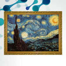 1000PCS Van Gogh Starry Night Jigsaw Puzzle Oil Painting Jigsaw for Kids Adult