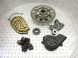 2004 04-06 Honda CBR600 F4I Lot Front Sprocket Cover Rear Chain 520