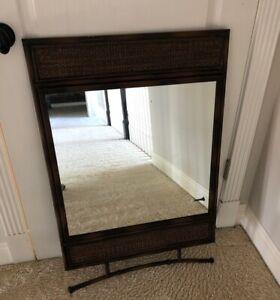Metal Brown Mirror 36 X 24 Frame Mirror Size 20x21