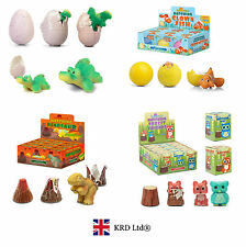 GROWING HATCHING ANIMAL EGGS Easter Activity Pet Grow Party Bag Gift Filler Egg