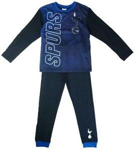 Boys Pyjamas hotSPURS Football Official Age 4 5 6 7 8 9 10 11 12 Year Tottenham