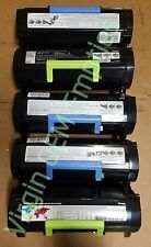 20 Virgin Genuine Empty Dell B2360 Lexmark MS310 Toner Cartridges FREE SHIP 500