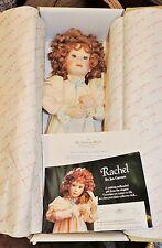 "2181~Danbury Mint RACHEL Doll Jan Garnett In OB ""Little Victorian Ladies"" Coll."