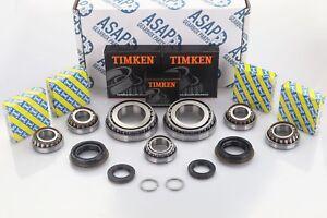 Opel Astra M32 Getriebe OEM Verstärkt Lager & Dichtung Umbau Set 7 Lager