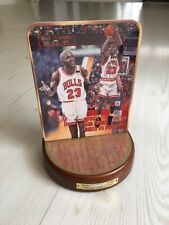 MICHAEL JORDAN LIMITED PLATE W/ STAND 2001 UD NBA BULLS BASKETBALL SPORTS