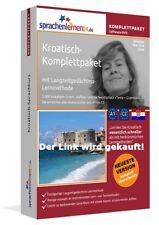 Kroatisch lernen mit dem Komplett-Paket ! von Sprachenlernen24 ! Superpreis ++++