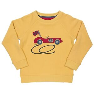 BNWT! Racing Car Sweatshirt. 100% Organic Cotton. UK Stock.