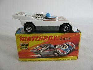 Vintage 1973-74 Matchbox Superfast 1/64 Scale Hi-Tailer Race Car #56 Lot C NOS