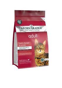 Arden Grange Cat Adult Chicken & Potato 2kg
