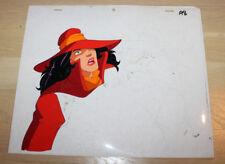 Carmen Sandiego DIC Original Production Cel & Skech #2