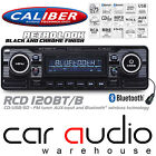 Classic Retro BLUETOOTH CD MP3 USB AUX Car Stereo Radio Player BLACK RCD120BT/B
