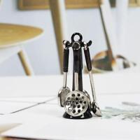 1/12Dollhouse Miniature Mini Cooking Utensils Colander Spoon Spatula Kitchen New