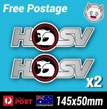 HSV Holden Special Vehicles Sticker - Decal Commodore GM  General Motors x2