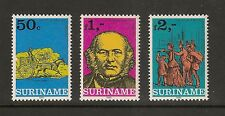 Surinam #549-551 VF MNH - 1980 50c to 2g London 1980 Stamp Expo