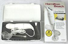 Hamilton Beach Hand Blender  2 Speed with Case -White