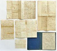 Konvolut 6 Handschriften  Sütterlin Briefe Belege ab 1817