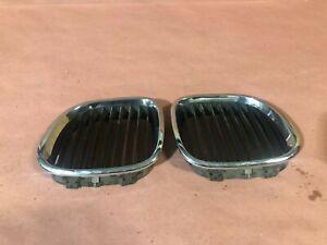 Factory Hood Kidney Grill Set Grills Trim BMW Z3 E36 41K Roadster OEM Low Miles!