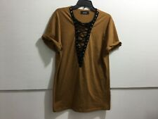 Ladies size small lace up front detailed pull over tunic