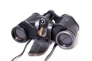 Vintage DIENSTGLAS 6x30 H/6400 Mid Size German Binoculars - Y96