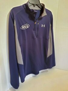 Under Armour Men's Pull Over Jacket Large Regular Long Sleeve Athletic Gear