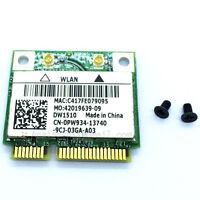 DELL DW1510 Wireless-N Wlan Half-Mini WIFI Card BCM94322HM8L Dual brand 0PW934