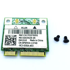 DELL DW1510 Wireless-N Wlan Half-Mini WIFI Card BCM94322HM8L Dual brand 0PW934