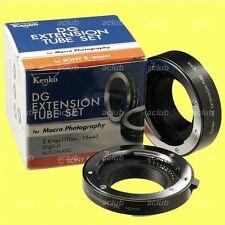 Genuine Kenko Automatic Extension Tube Set DG Tubeset for Sony E-Mount