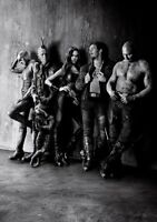 GUARDIANS OF THE GALAXY; VOL 2  Movie PHOTO Print POSTER Cast B&W Textless 007