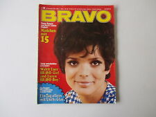 Bravo Nr.48  23.11.1970 Chris Roberts,Uschi Glas,CCR,Giuliano Gemma,