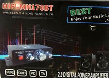 New listing New Zhiaida HiFi-Mn170Bt Wireless Audio 2.0 Digital Power Amplifier Free Shippng
