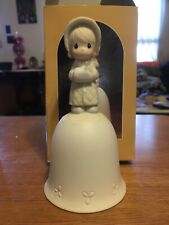 Precious Moments Bell Wishing You A Cozy Christmas 1986 Special Issue (102318)