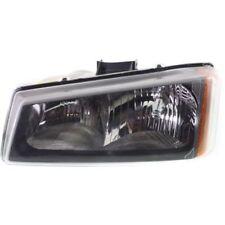 For Silverado 1500 03-07, CAPA Driver Side Headlight, Clear Lens